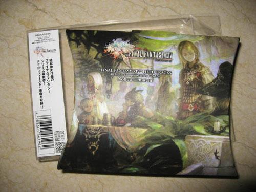 【音乐】《最终幻想14》场景音乐CD下载