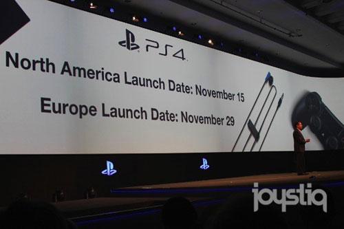 【业界】索尼GAMESCOM 2013发表会,PS4发售日公开,PSV降价