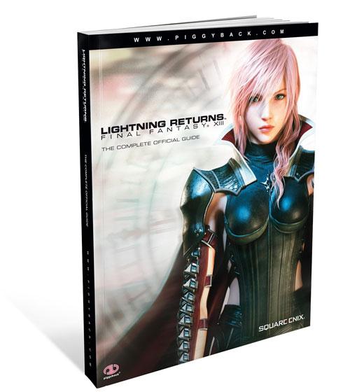 【电子书】《最终幻想13 雷霆攻略》官方攻略本,Piggyback出版