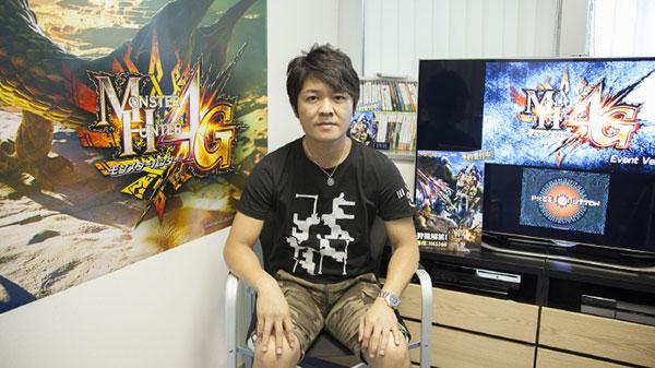 【业界】A9专访《怪物猎人4G》制作人辻本良三