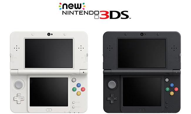 【业界】任天堂推出新3DS,主机多处改进性能更强