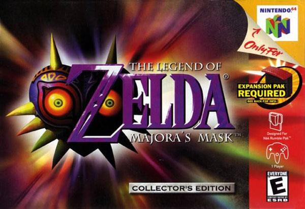 【N64】《塞尔达传说 马祖拉的假面》文字完全汉化版下载
